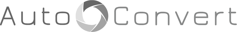AutoConvert Grey Logo White BG