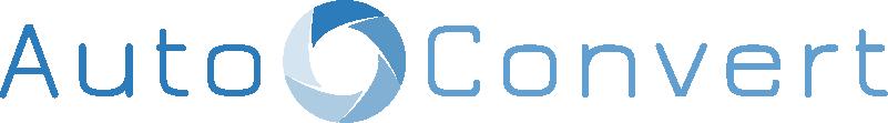 AutoConvert Logo White BG