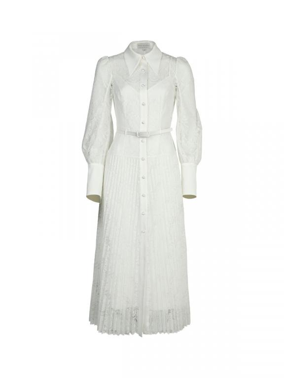 Sassi Holford Chelsea shirt dress in ivory