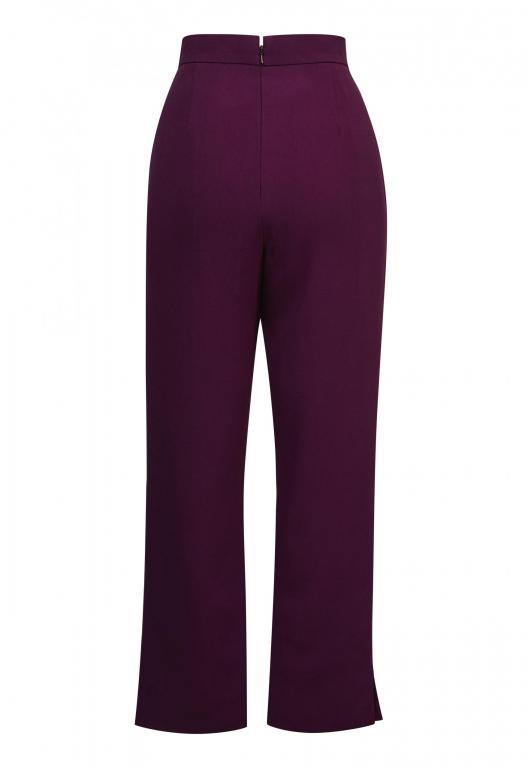 Sassi Holford Boston Trousers Aubergine