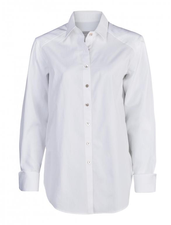 Sassi Holford Boyfriend Shirt White