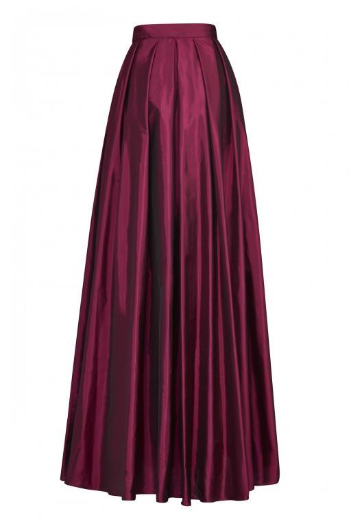 Sassi Holford RTW 2021 Florence Skirt Cerise (Back)