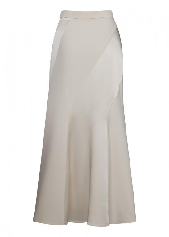 Sassi Holford RTW 2021 Kensington Skirt Taupe (Back)