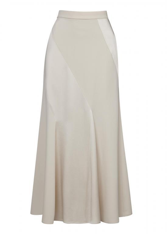 Sassi Holford RTW 2021 Kensington Skirt Taupe (Front)