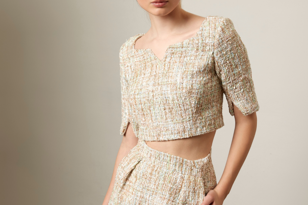 Sassi Holford Boucle Dunster Top