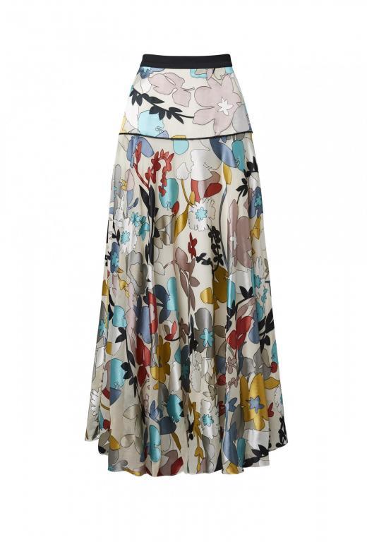 sassi holford colourful ankle length skirt