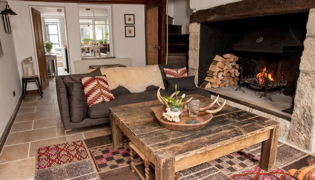 Cosy sitting room at 62 Mallams in Devon