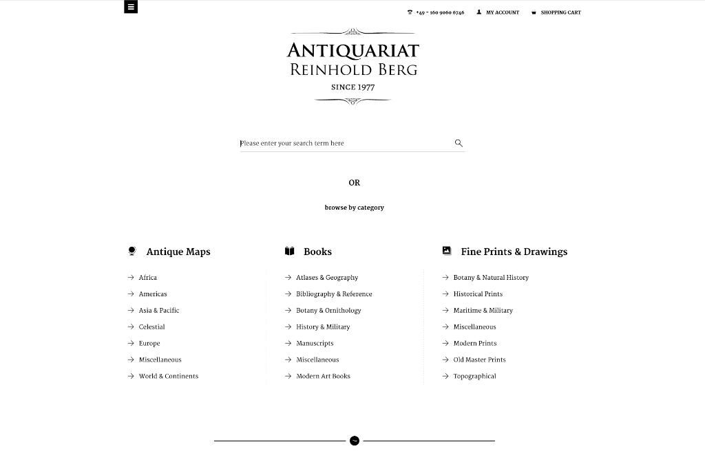 Antiquariat Reinhold Berg