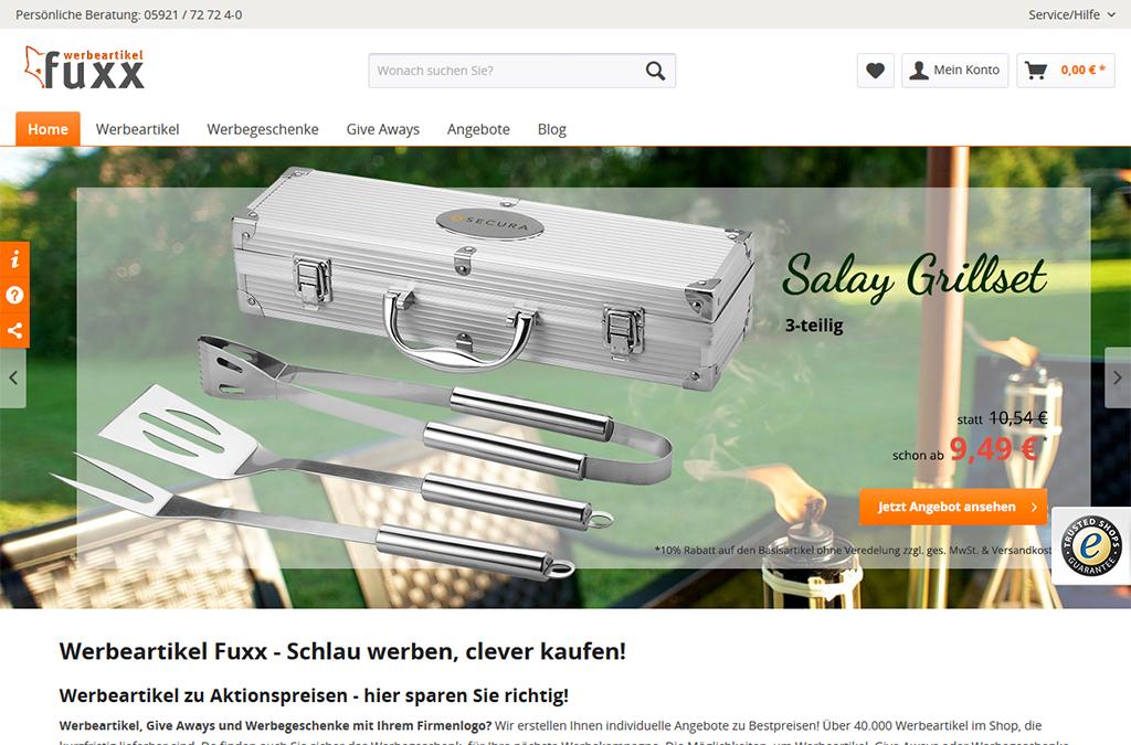 Werbeartikel Fuxx