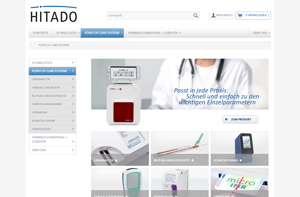 Hitado - Point of Care Systeme