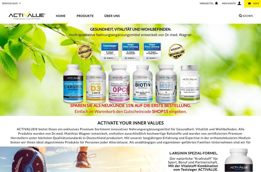Gesundheit, Vitalität und Wohlbefinden