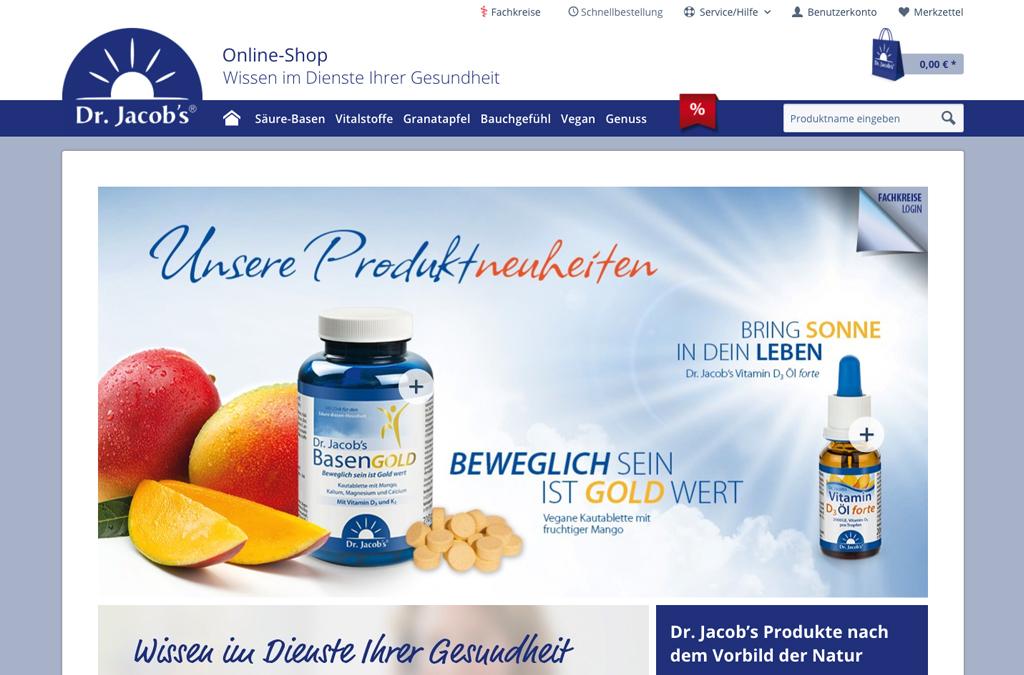 Dr. Jacob´s Onlineshop