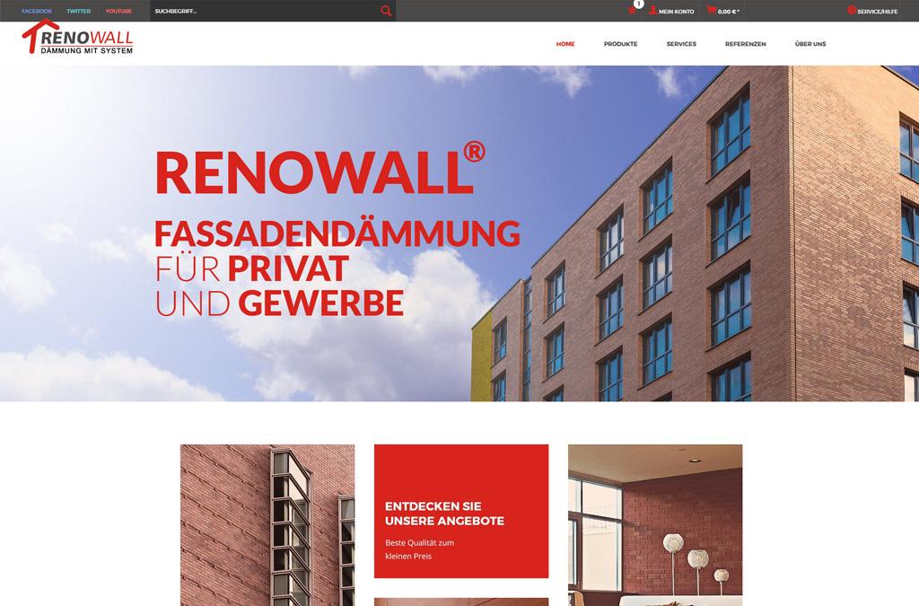 Fassadendämmung - Renowall