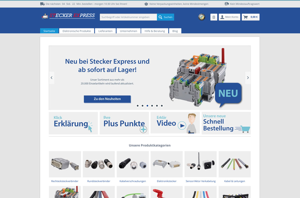 Stecker Express