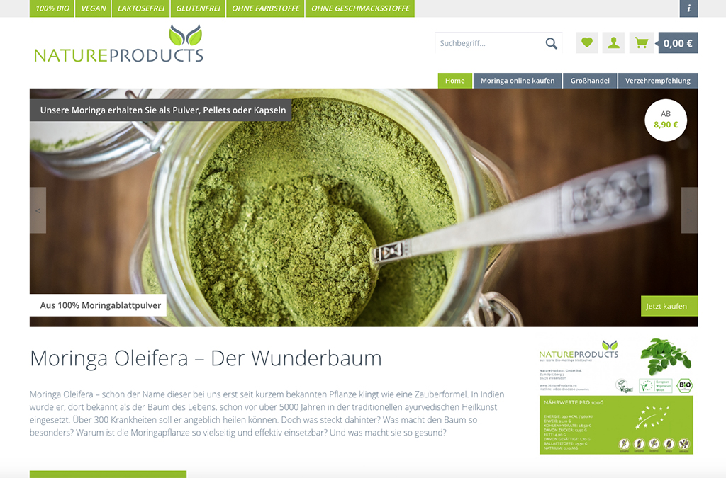 NatureProducts GmbH ltd.