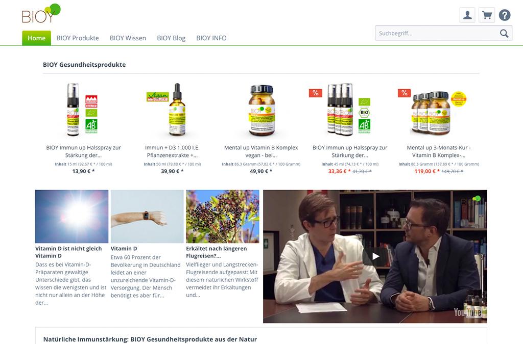 BIOY Gesundheitsprodukte