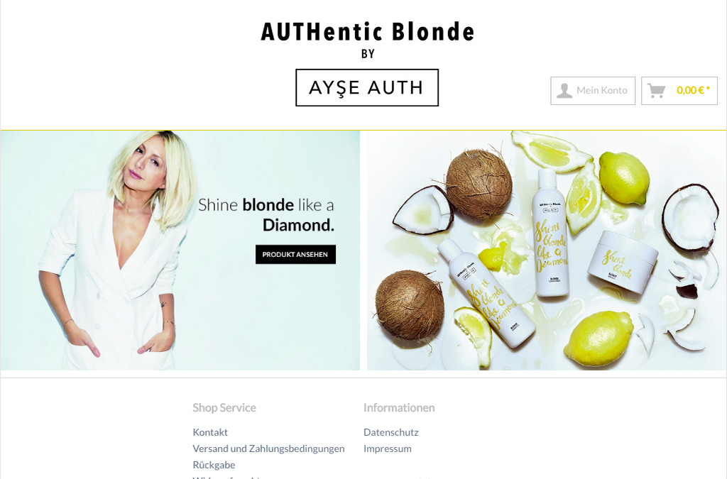 Authenticblonde by Ayse Auth
