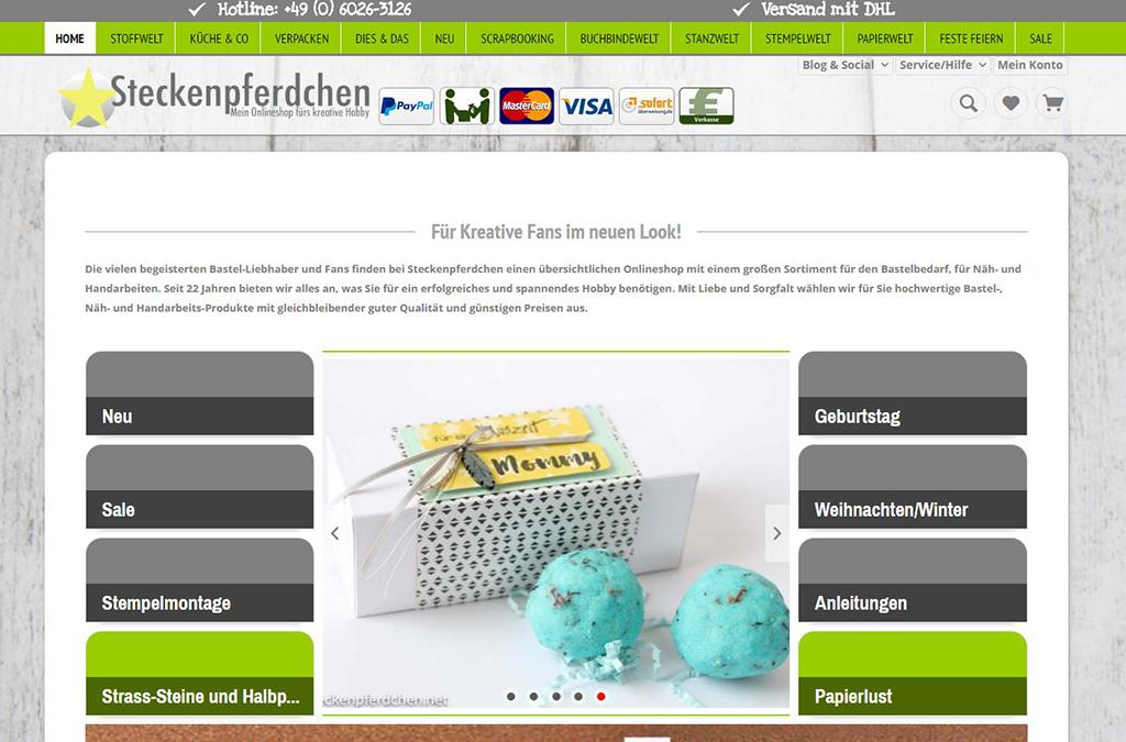 Steckenpferdchen Mein Onlineshop fürs kreative Hobby