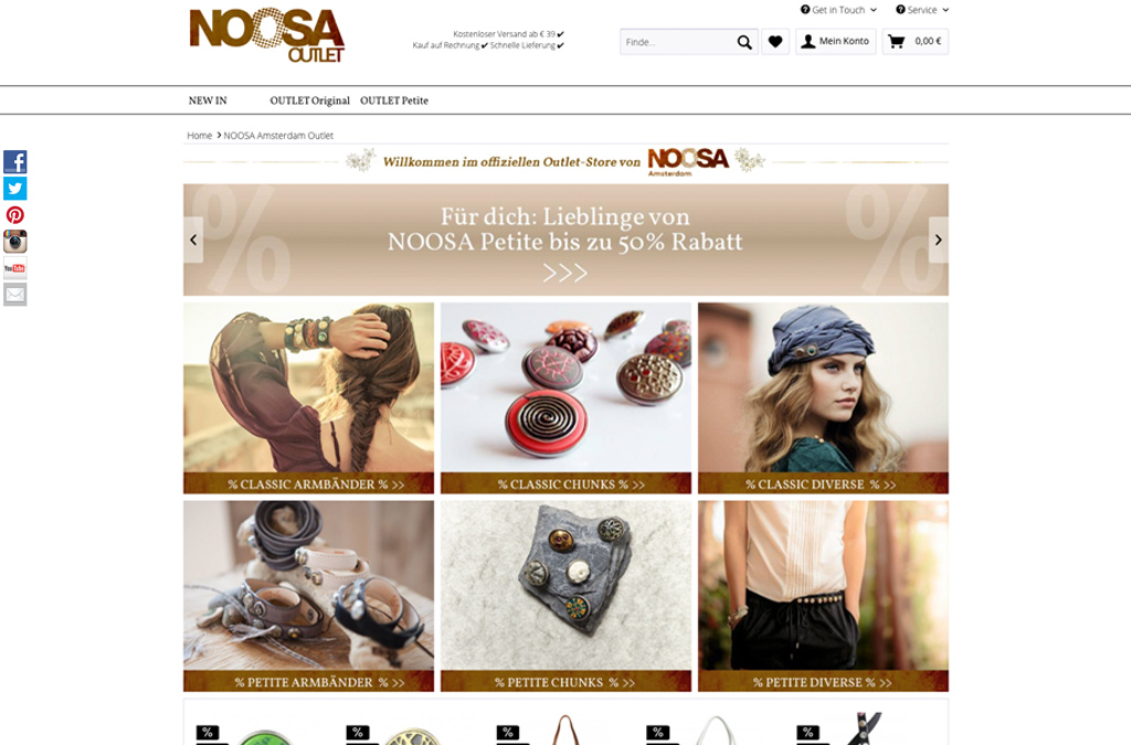 NOOSA Amsterdamm Outlet