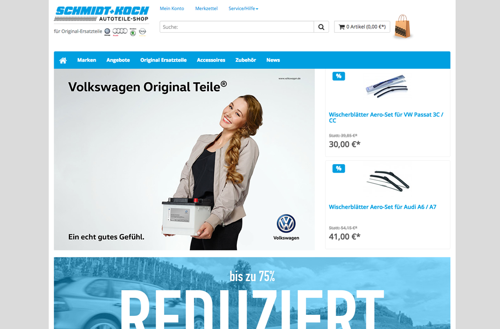 Schmidt + Koch Online-Shop