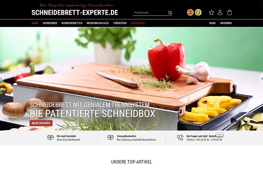 SCHNEIDEBRETT-EXPERTE