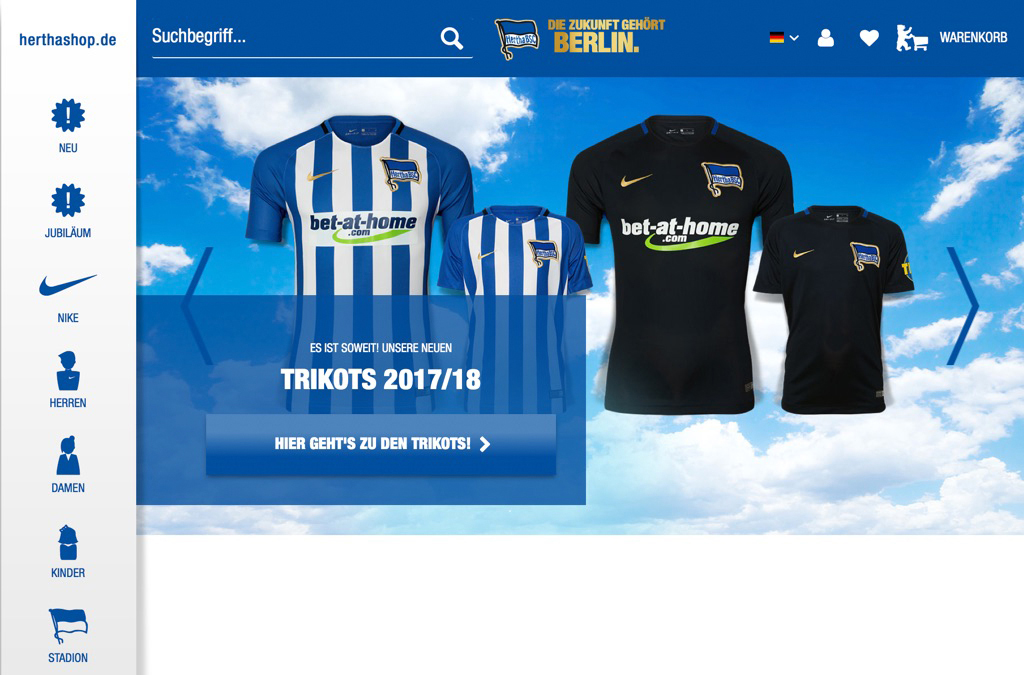 Hertha BSC Onlineshop