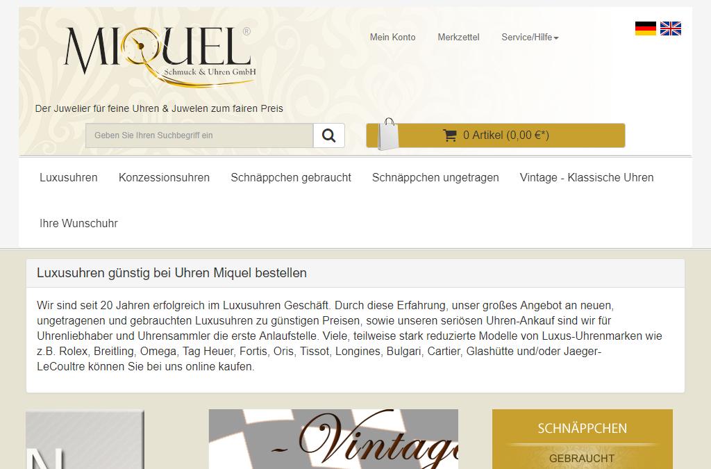 Miquel Schmuck & Uhren GmbH