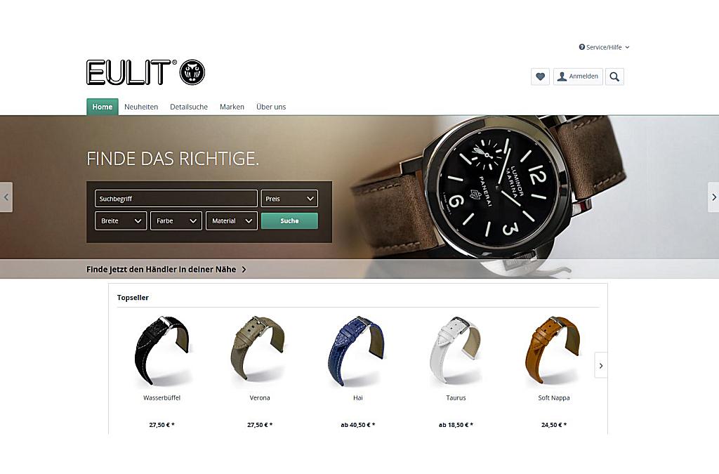EULIT Uhrenarmbänder