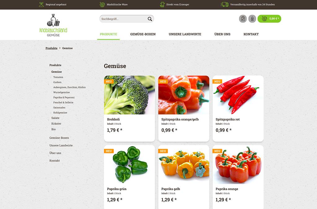 Knoblauchsland Gemüse