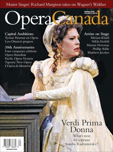 Opera Canada Magazine Goes Digital