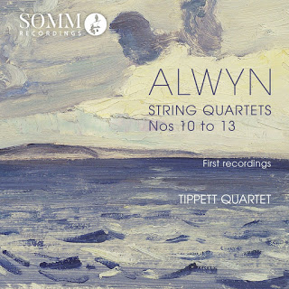 Welcome premiere recordings of William Alwyn's early quartets Nos 10 to 13 from the acclaimed Tippett Quartet on Somm