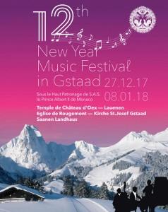 GSTAAD (SUISSE), New Year Music Festival 2018.Saanen, Théâtre, le 7 janvier 2018. Récital lyrique de l'Académie & Concours Bellini