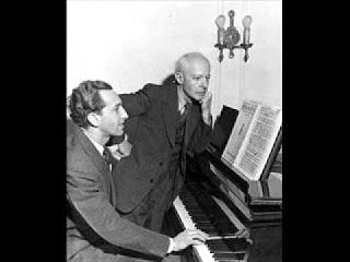 Portrait de Béla Bartók (1881-1945) par son disciple pianiste hongrois György Sándor (1912-2005)
