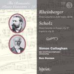 Deux compositeurs de la grande tradition allemande : Rheinberger et Scholz