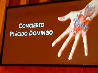 La generosidad del gran Plácido Domingo