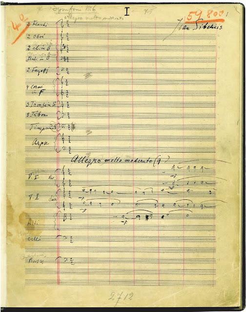 Sexta sinfonía opus 104 (1922-1923): 1. Historia de la obra (1912-1923)