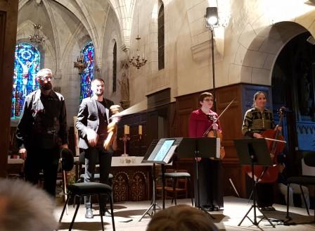Hahn, Dessy, Debussy par le Quatuor Tana