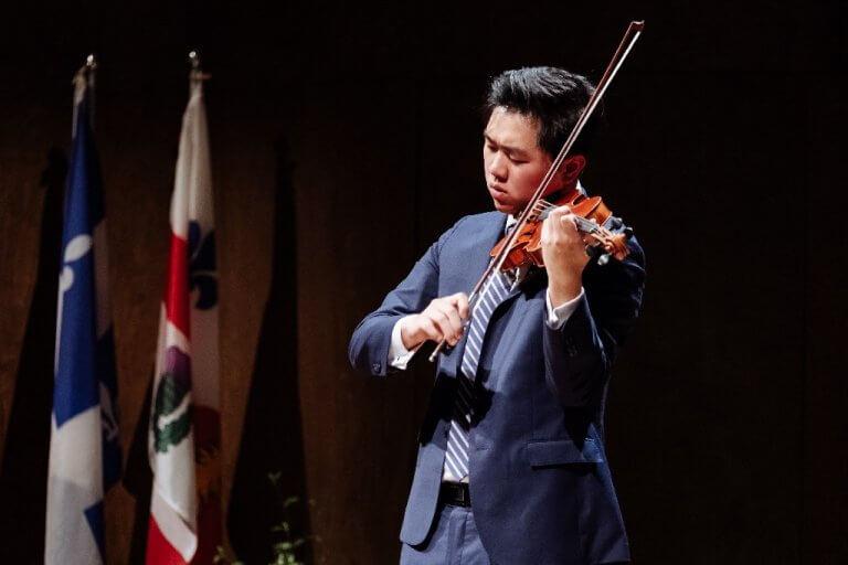 NOUVELLE    Hao Zhou remporte le Concours musical international de Montréal 2019