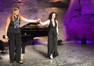 Français - Patrizia Ciofi en récital sous le ciel étoilé de Gordes