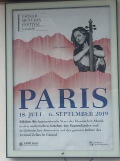 Le Festival Menuhin de Gstaad, l'un des trois grands festivals d'été helvétiques