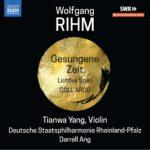 Tianwa Yang joue Wolfgang Rihm