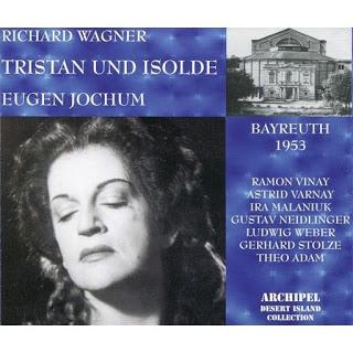 Wagner Tristan und Isolde  . Astrid Varnay,Ramon Vinay / Jochum 1953