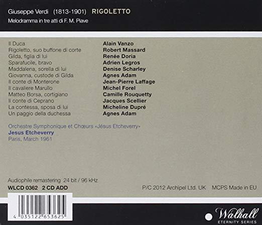 La discografía de Rigoletto (XI)