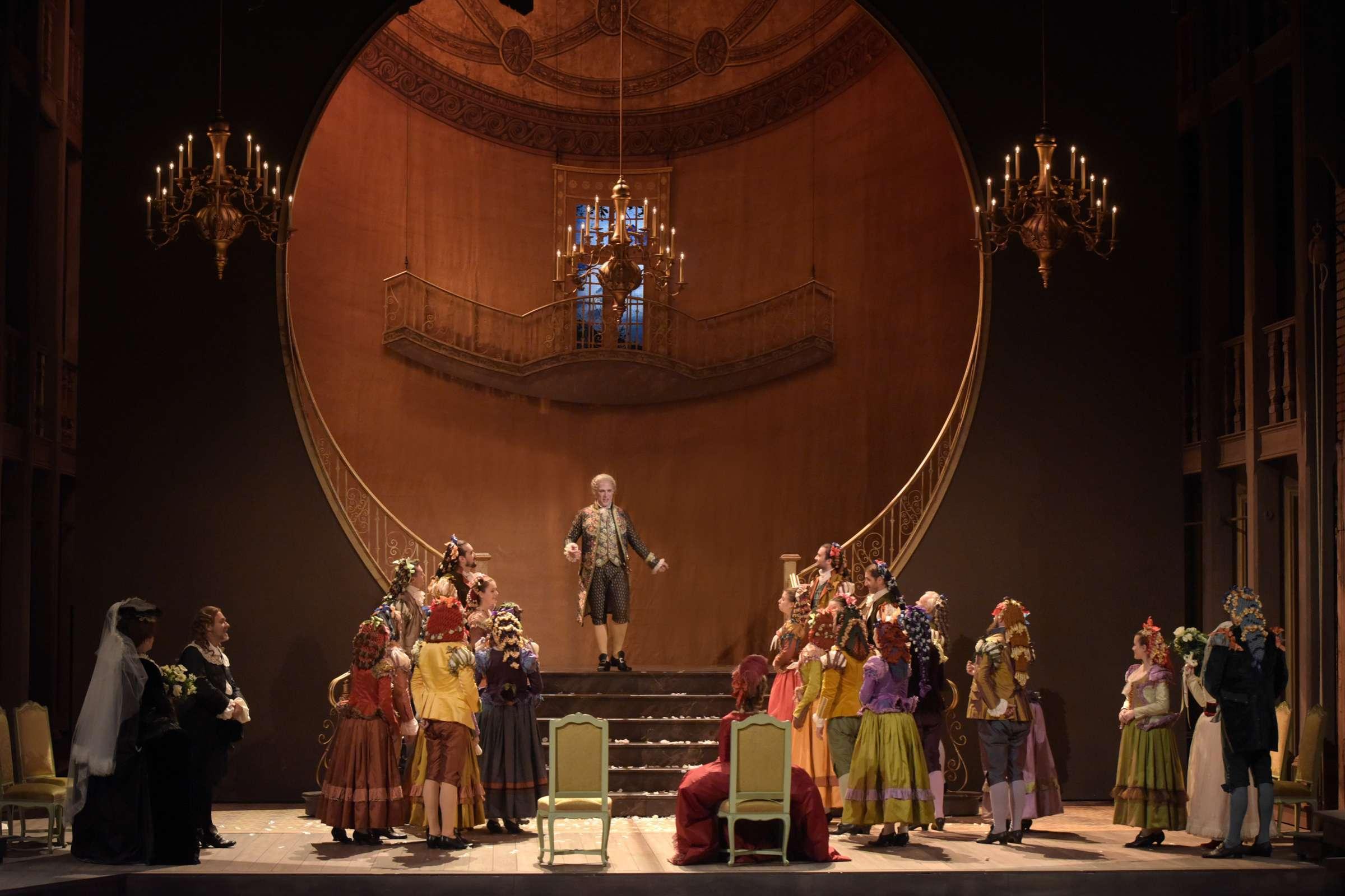 «Les Noces de Figaro» au Théâtre des Champs-Elysées