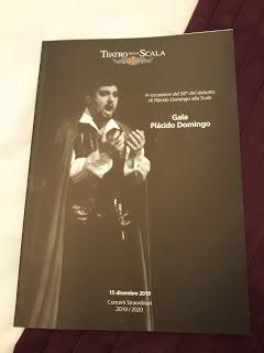 Y eso iba de cumpleaños….los 50 años de Plácido Domingo en la Scala