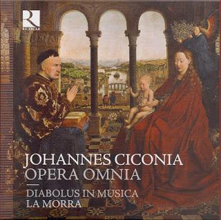 Johannes Ciconia: Opera Omnia (Diabolus in Musica, La Morra)