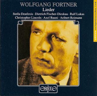 Wolfgang Fortner: Klavierlieder