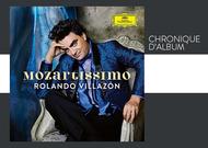 Français - Chronique d'album : Mozartissimo, de Rolando Villazon