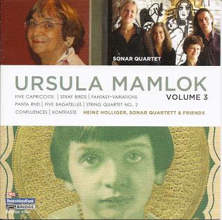 Ursula Mamlok: Werke für Soloinstrumente und kleine Kammerensembles