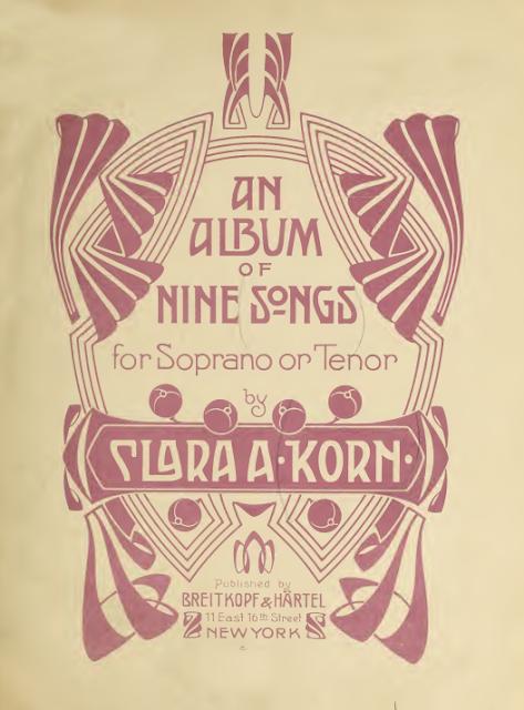 Voir et entendre, par Clara A. Korn